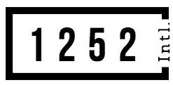 1252 INTERNATIONAL