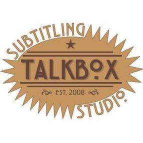 TALKBOX SUBTITLING STUDIO