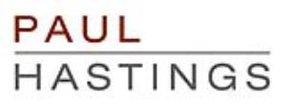 PAUL HASTINGS LLP